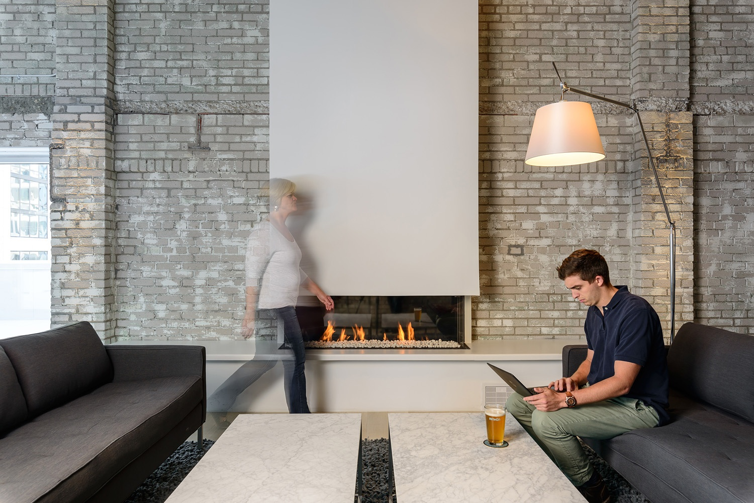 Linear Fireplace Element 4