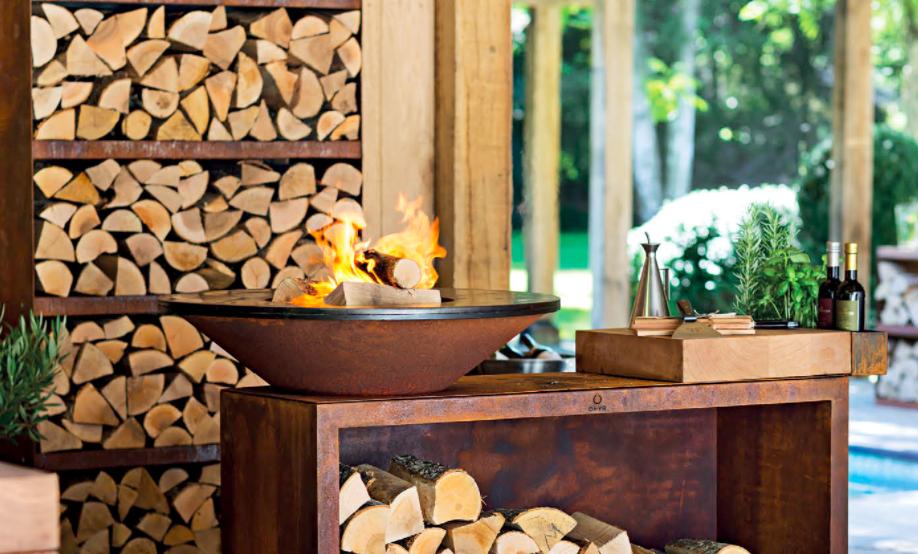 OFYR wood grill