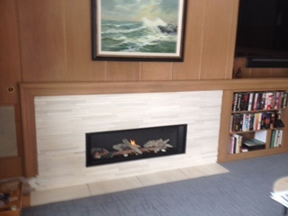 Linear Fireplace Valor