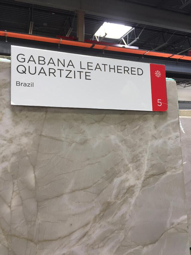 Quartzite Stone from Brazil