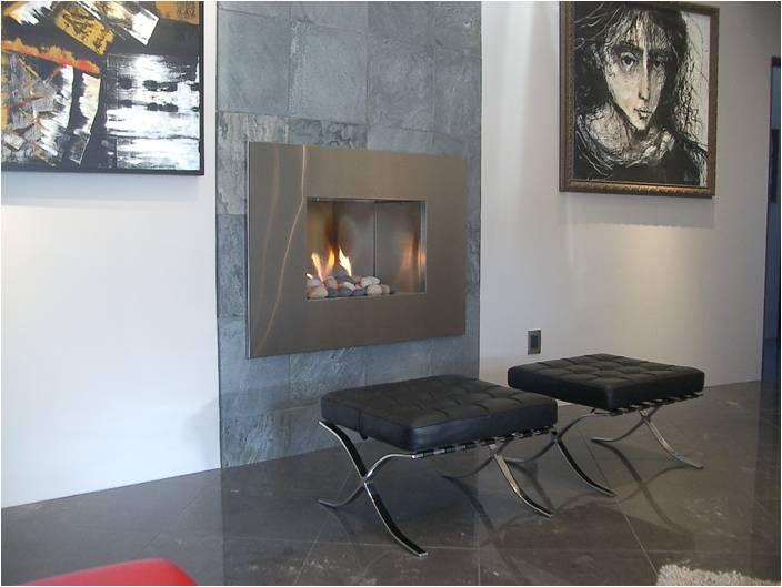 European Home B-Vent Gas Fireplace