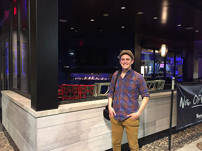 Cory Ploessi with European Home
