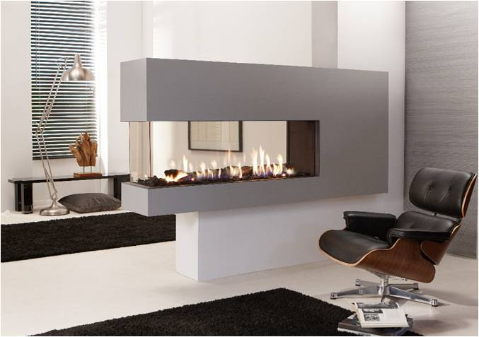 European Home Direct Vent Gas Fireplace