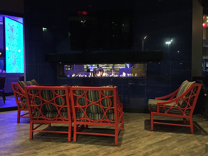 Linear Fireplace Minnetonka