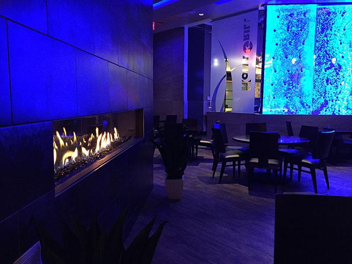 Linear Fireplace MN