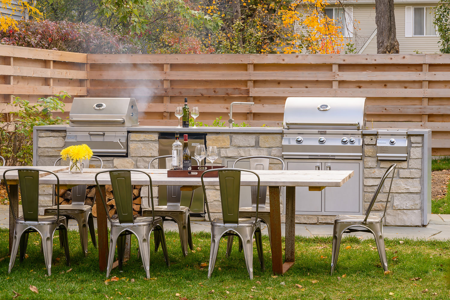 Fire Magic Grill and Outdoor Kitchen