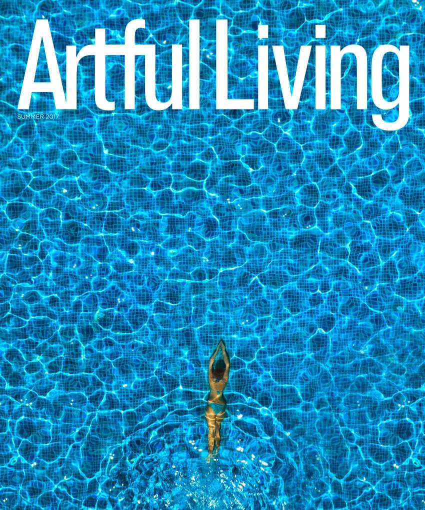 Artful Living Magazine Cover Summer 2017