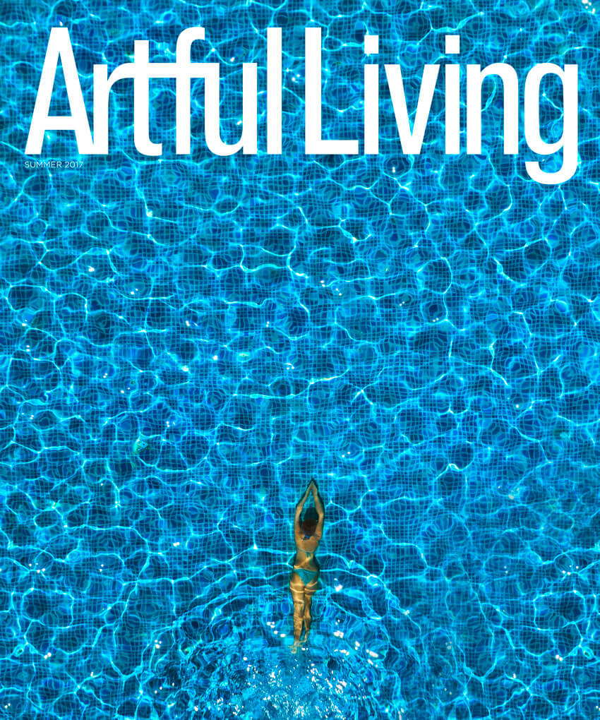 Artful Living Magazine Cover Summer 2017