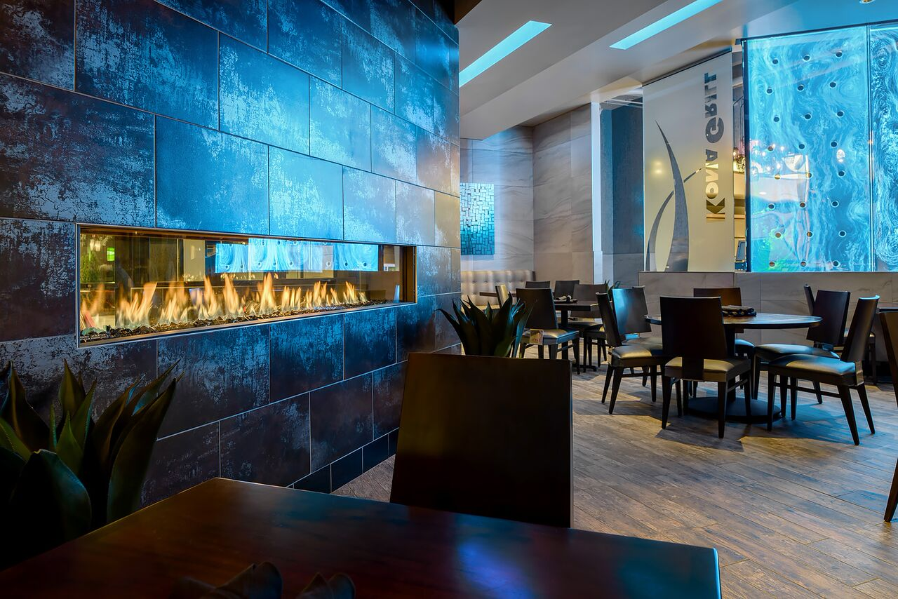 Kona Grill -Element 4 fireplace
