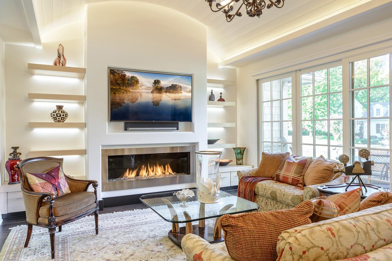 Element 4 Linear Fireplace