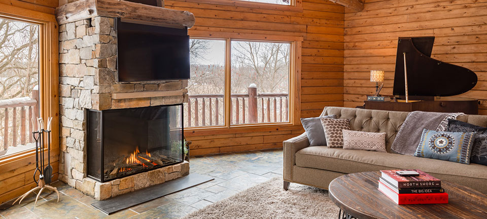All Seasons Fireplace provides fireplaces